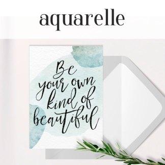 Aquarelle Collection